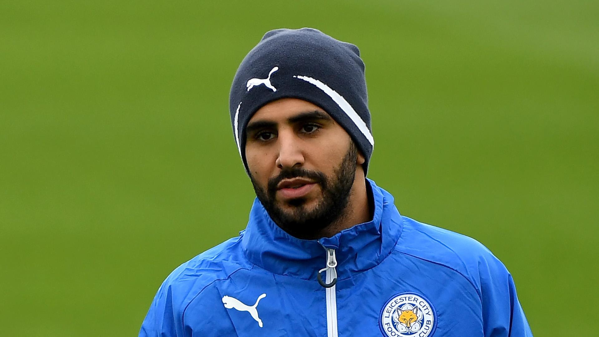 Mahrez fait une annonce importante — Leicester