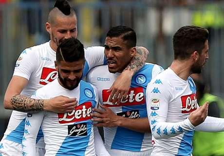 Empoli-Naples (2-3), résumé du match