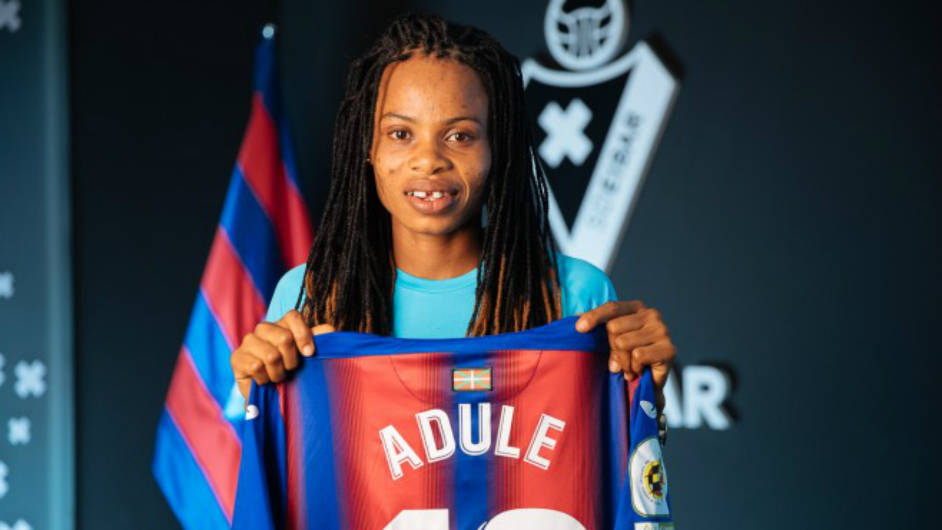 Charity Adule: Nigeria forward joins Eibar from BIIK Kazygurt