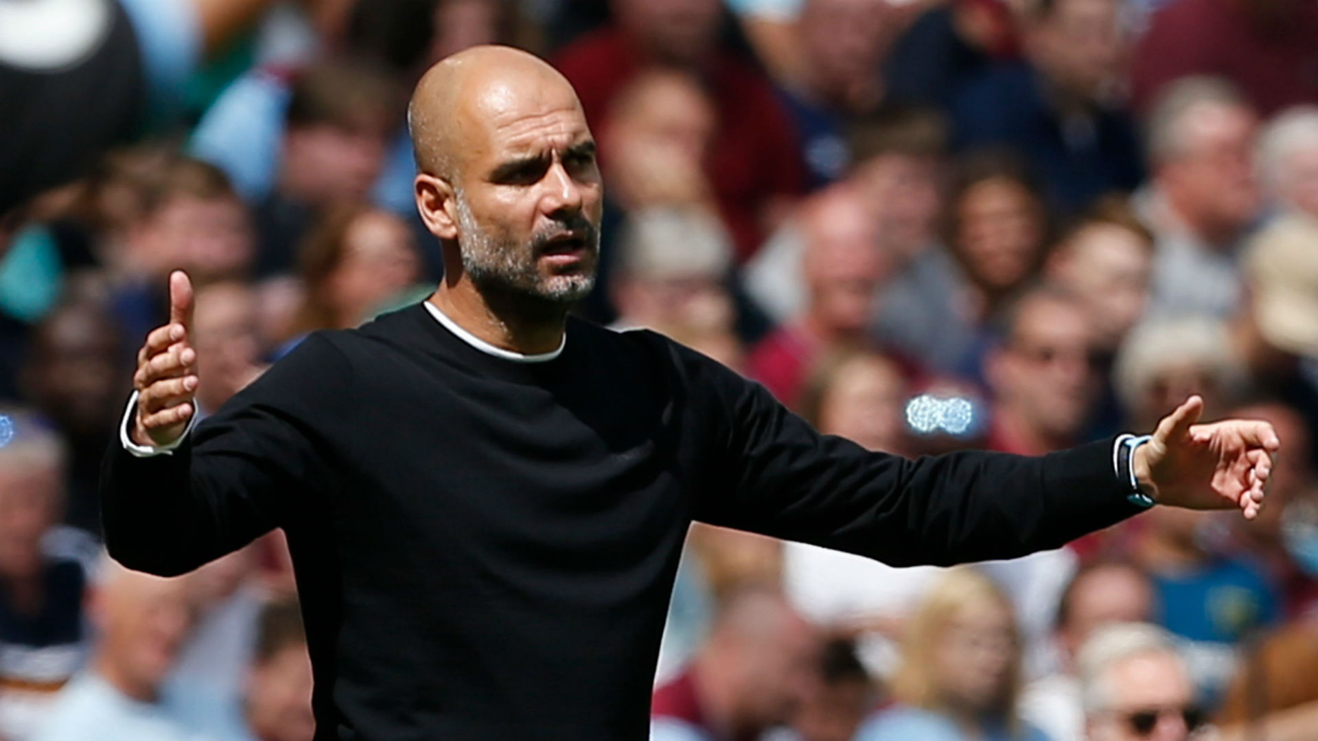 Pep Guardiola mécontent de la performance de Manchester City malgré le 5-0
