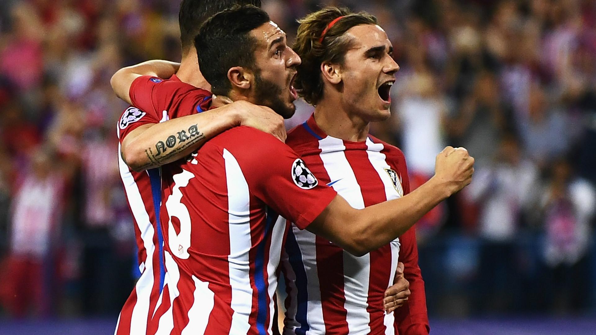 Antoine Griezmann Atletico Madrid Champions League