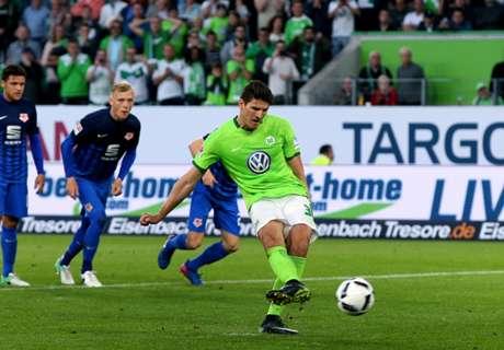 Wolfsburg houdt zicht op lijfsbehoud