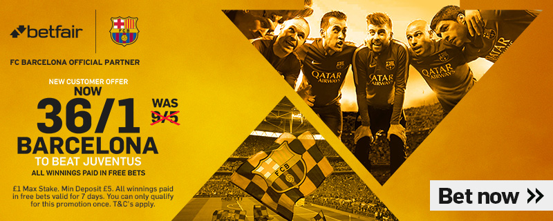 GFX Barcelona 36/1 enhanced betting