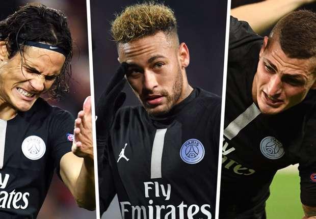 Image result for No Neymar, no Cavani, Verratti unfit: Decimated PSG in huge trouble against Man Utd