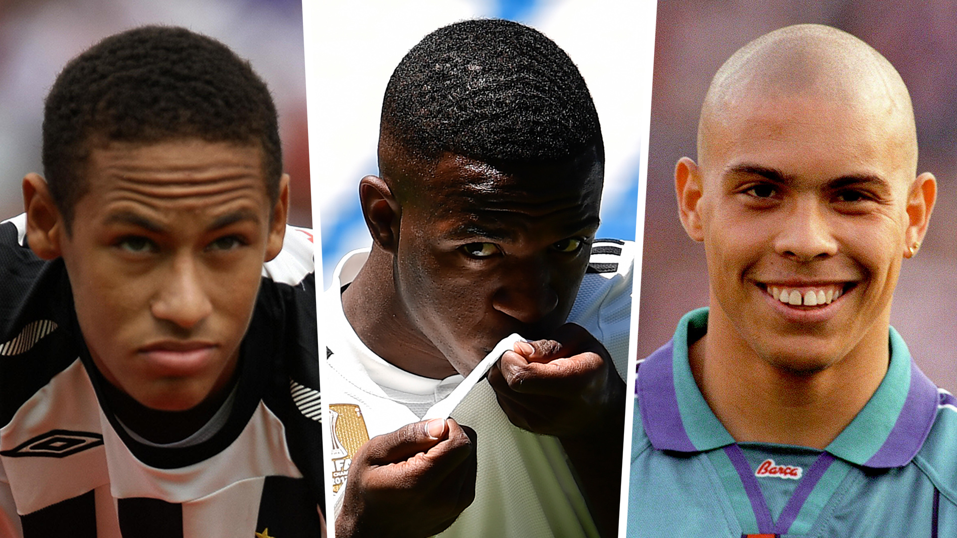Vinicius, Neymar, Ronaldo and the top 10 Brazilian wonderkids of all time