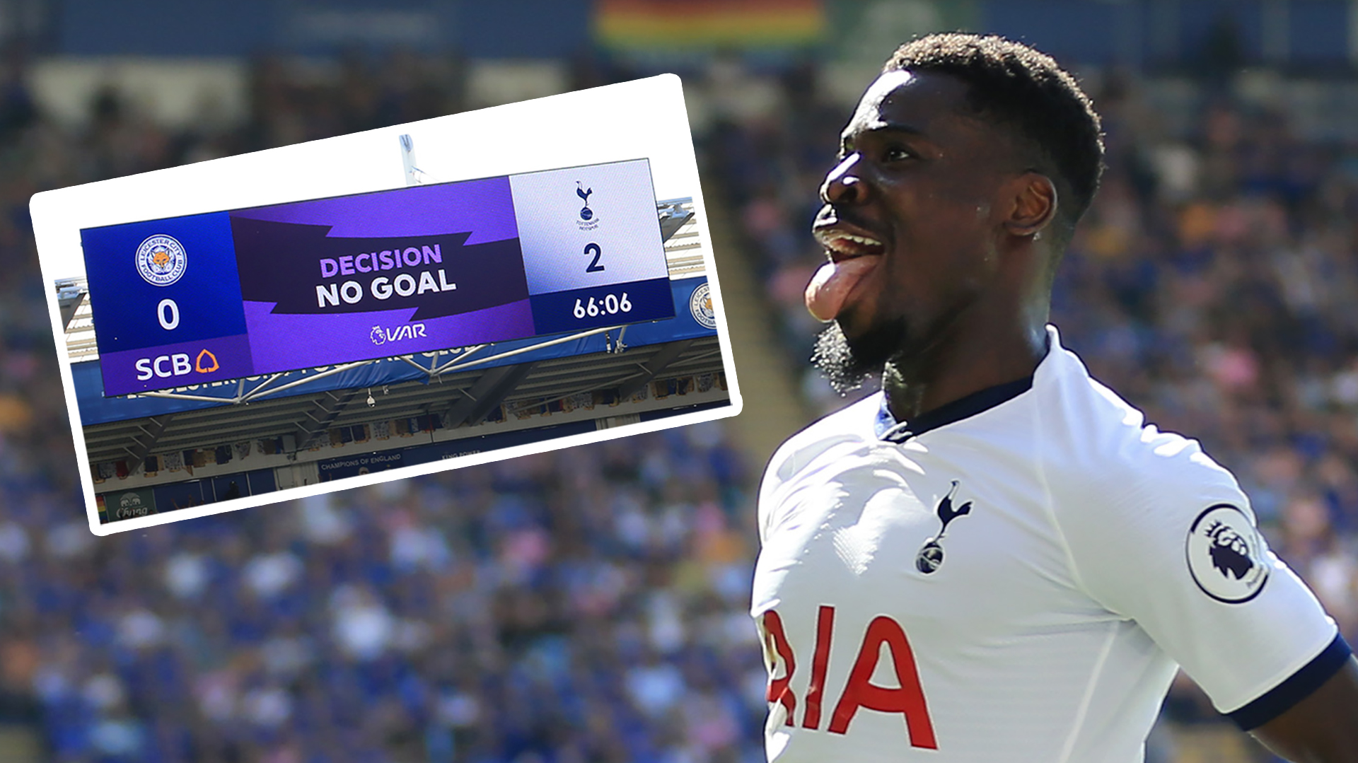 'Son's eyelash was offside' - VAR slammed yet again as Tottenham see Aurier goal controversially ruled out