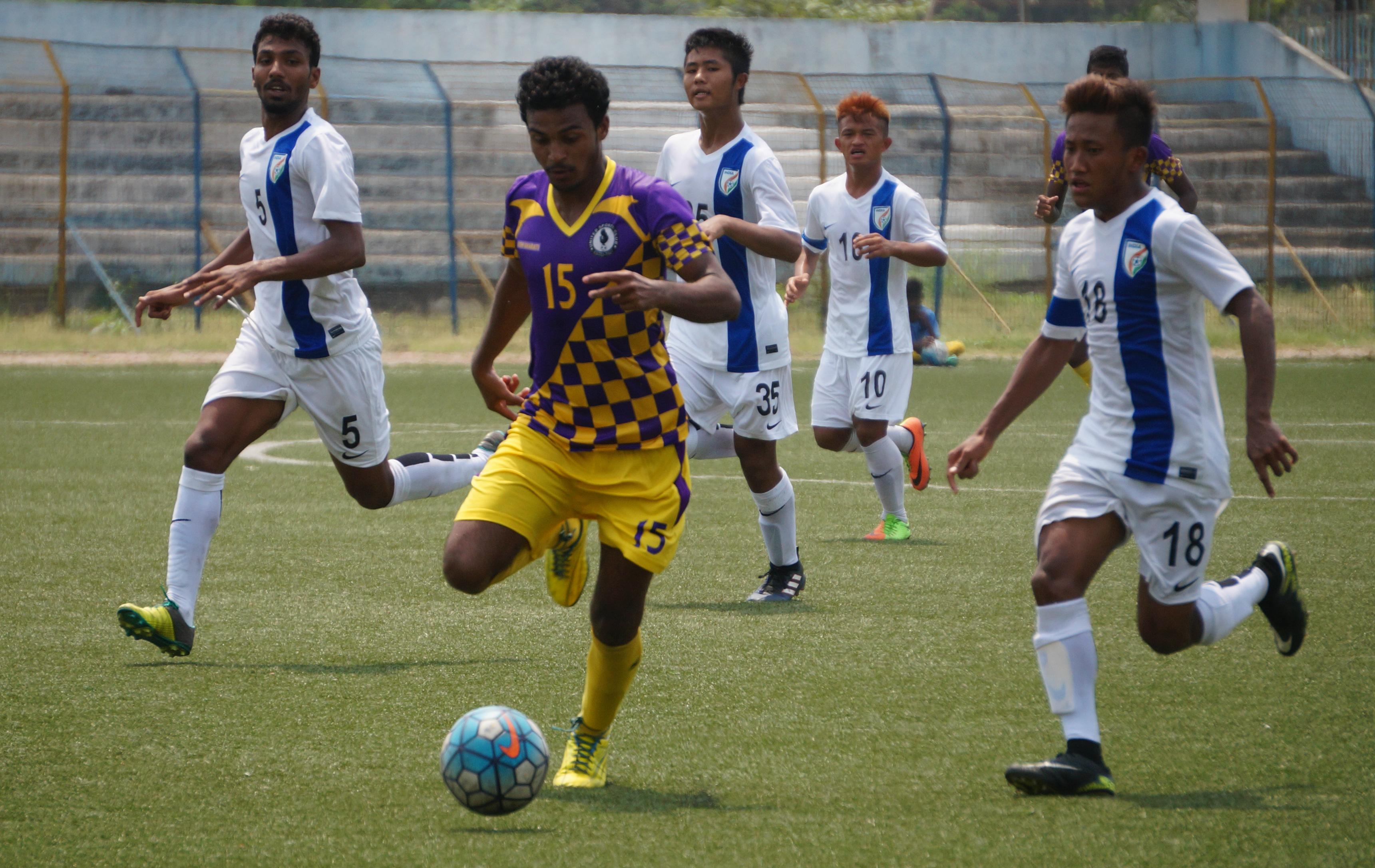 United SC vs AIFF Elite Academy