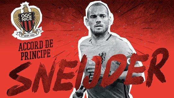 Fußball: Favre holt Sneijder nach Nizza
