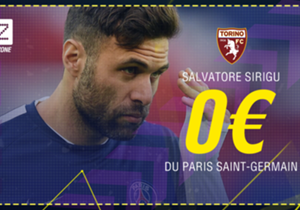"<p><font color=""#009966"" size=""3""><b>Salvatore Sirigu</b></font></p> <p><em>Gardien l 30 ans </em></p> <p><span style=""font-size:medium;""><strong><em><font color=""#009966""><font size=""3"">Paris Saint-Germain  </font> </font> </em> <span style=""co..."