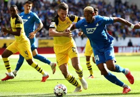 Dortmund ontsnapt met tien man aan nederlaag