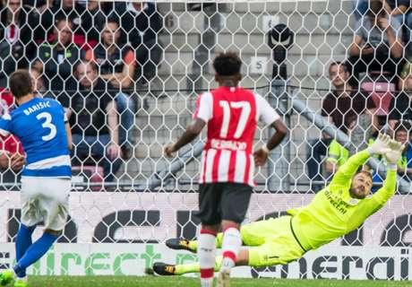PSV beschamend onderuit in Europa