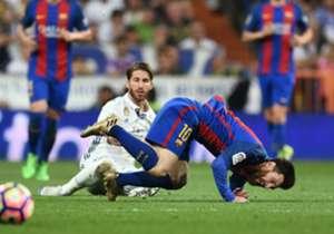 Así fue la patada a Messi.