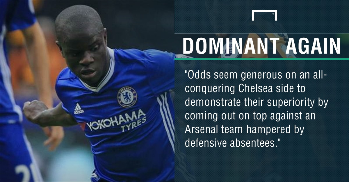 GFX Arsenal Chelsea betting
