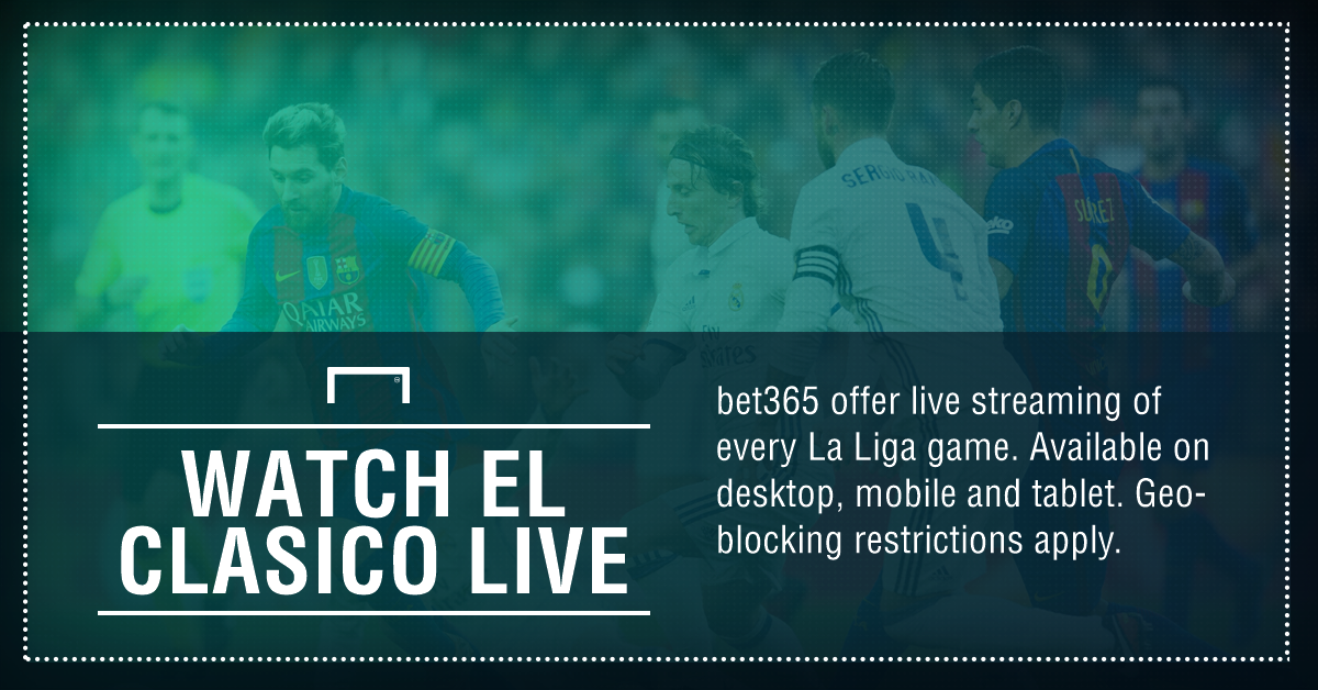 GFX FACT EL CLASICO LIVE STREAMING