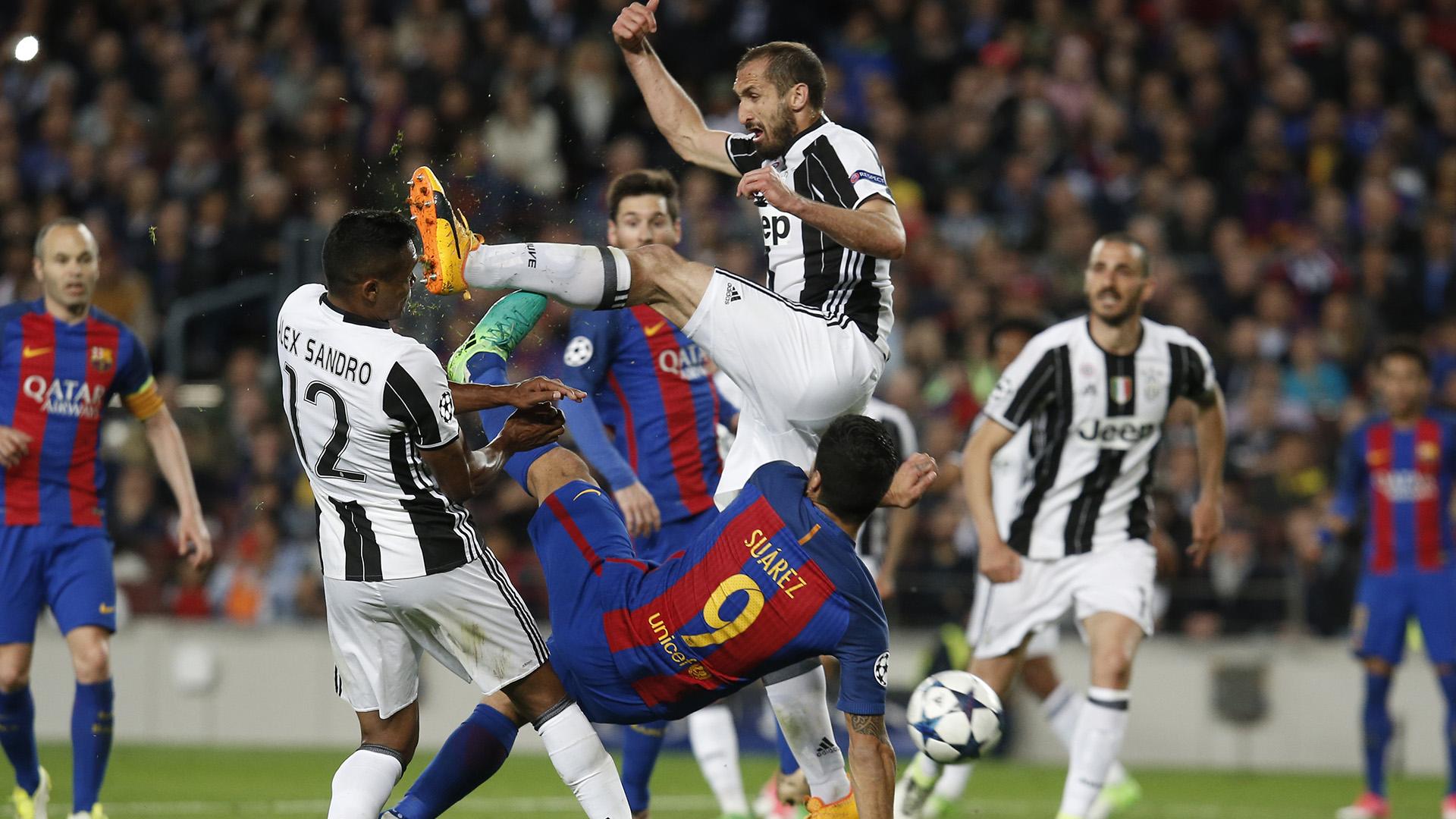 Giorgio Chiellini Barcelona Juventus Champions League