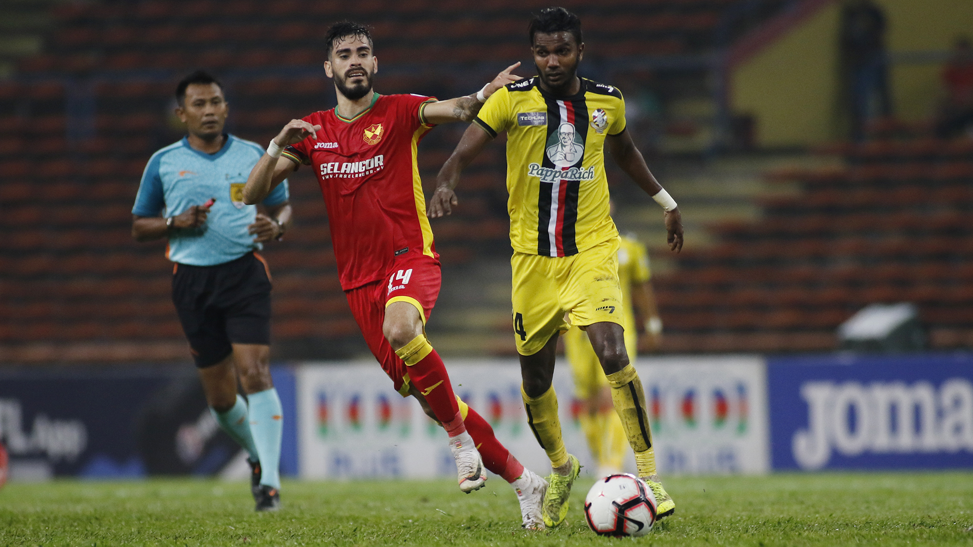 PLAYER RATINGS: Selangor vs PDRM......