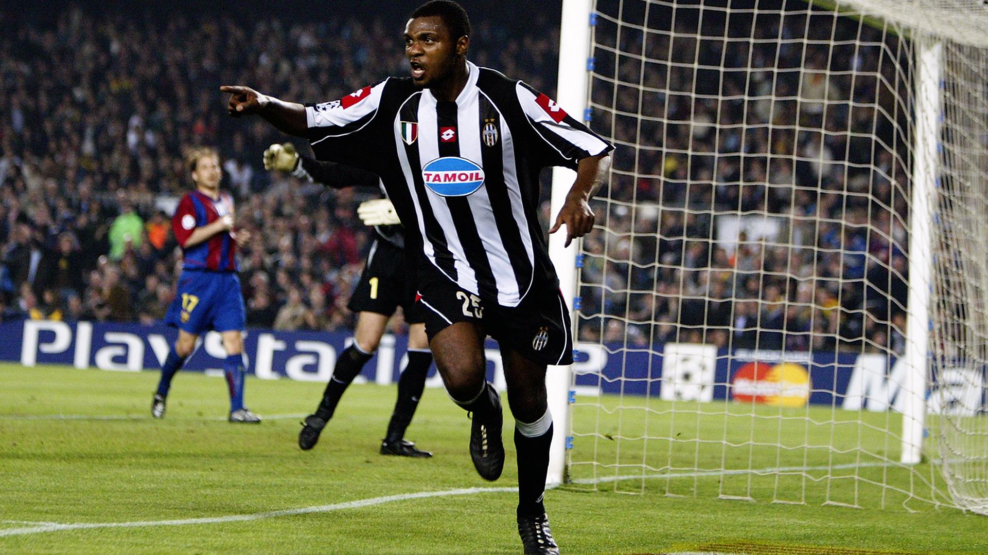 Zalayeta Juventus Barcelona 2003