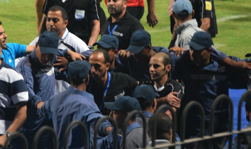 حكم مباراة الترجي التونسي والفتح الرباطي المغربي (السعودي تركي الخضير).