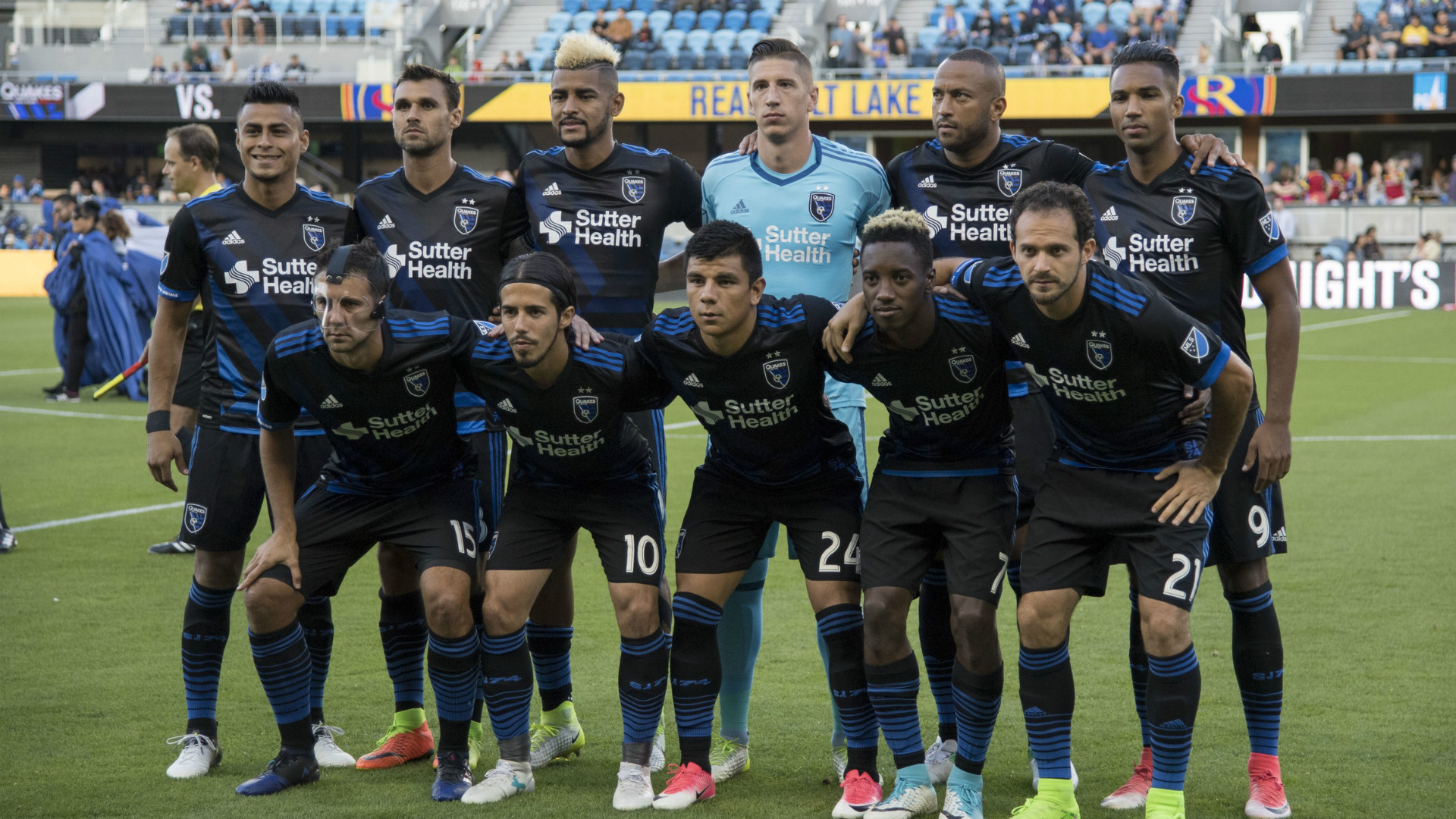 San Jose Earthquakes team photo MLS 06242017