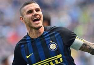 16) MAURO ICARDI, Inter - 26 goal (24 Serie A, 2 Europa League)