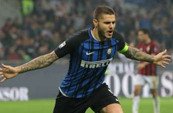 Icardi hat-trick steers Inter to dramatic derby win over AC Milan