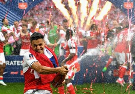 Arsenal llama a votar por el mejor gol de Alexis