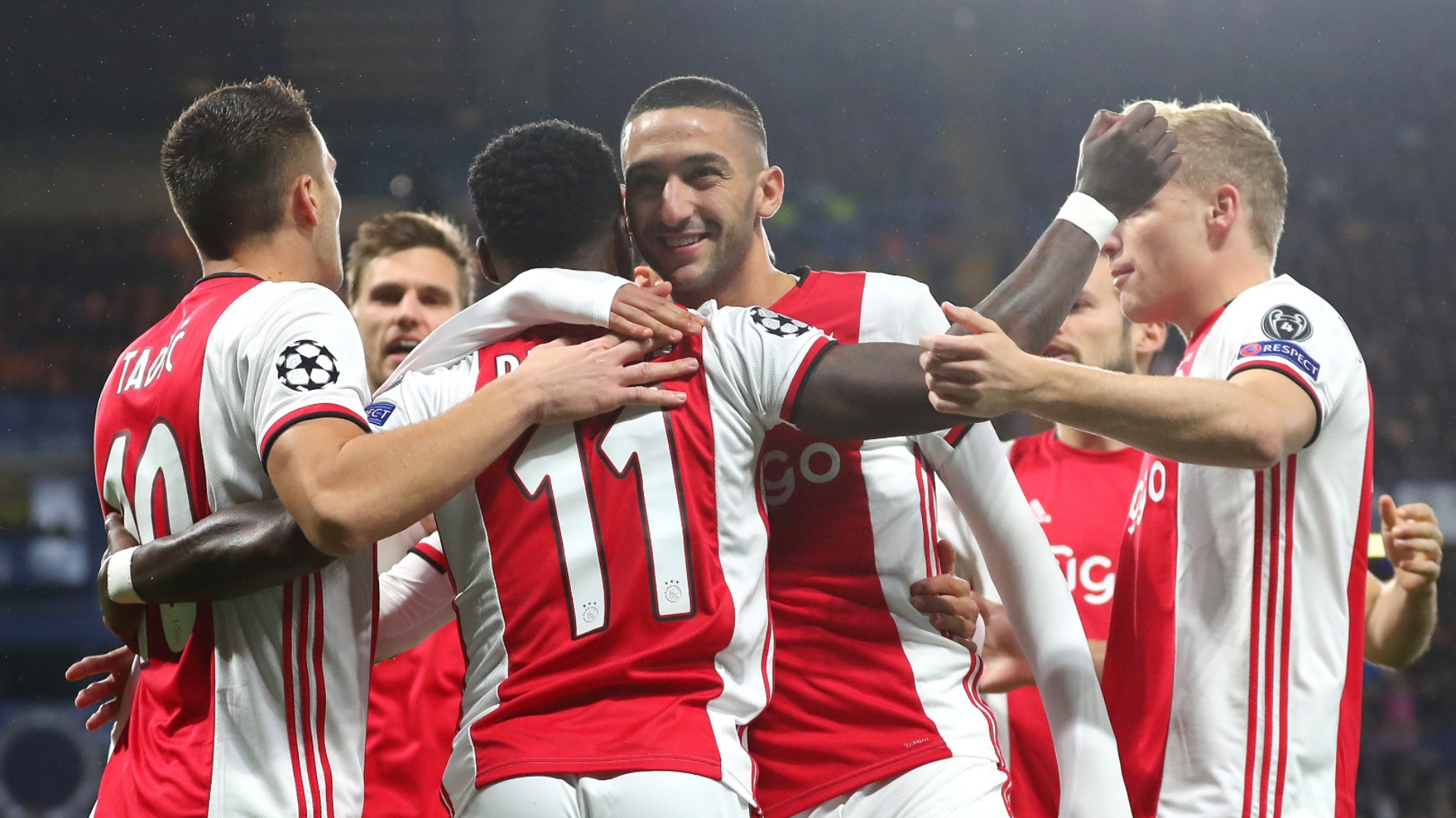 Ziyech plays key role in Ajax demolition of Utrecht