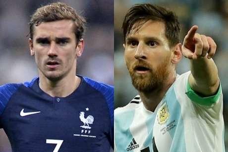 Resultado de imagem para França x Argentina