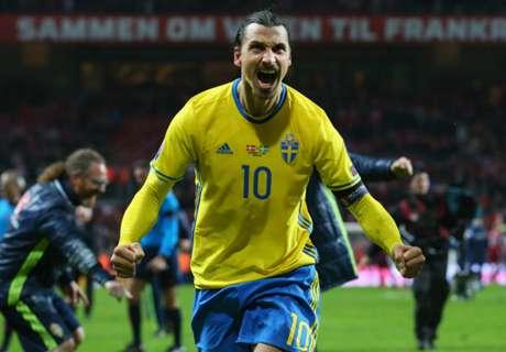 La carrera de Ibrahimovic con Suecia