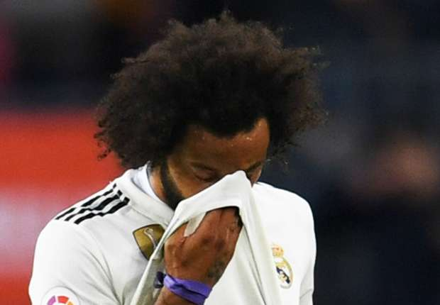 Real Madrid confirm Marcelo hamstring injury