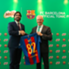 Mr Patrice Bula, Executive Vice President, Nestlé S.A and Mr Xavier Asensi, Managing Director Asia Pacific, FC Barcelona