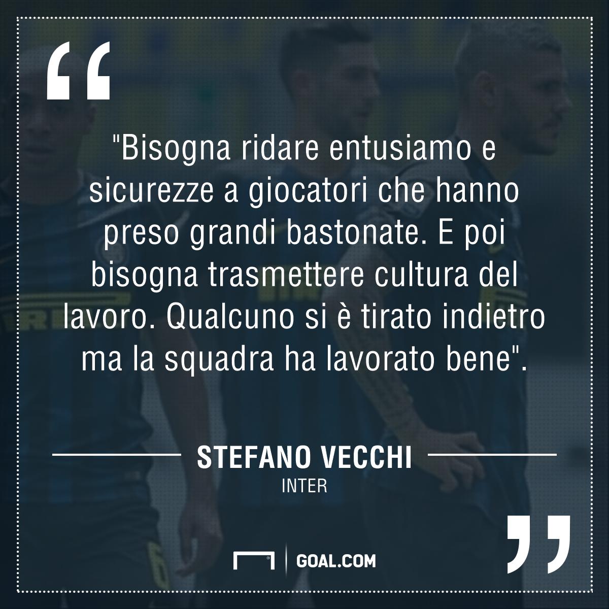 Serie A Inter, Vecchi: