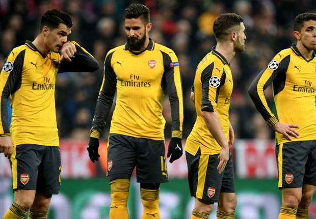 A defensive shambles: Arsenal become first English team to concede 200 Champions League goals