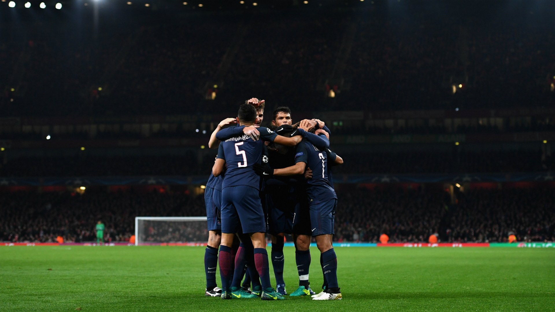 Arsenal PSG Champions League 23112016
