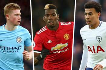 Premier League most assists 2017-18: Man City stars De Bruyne & Sane lead