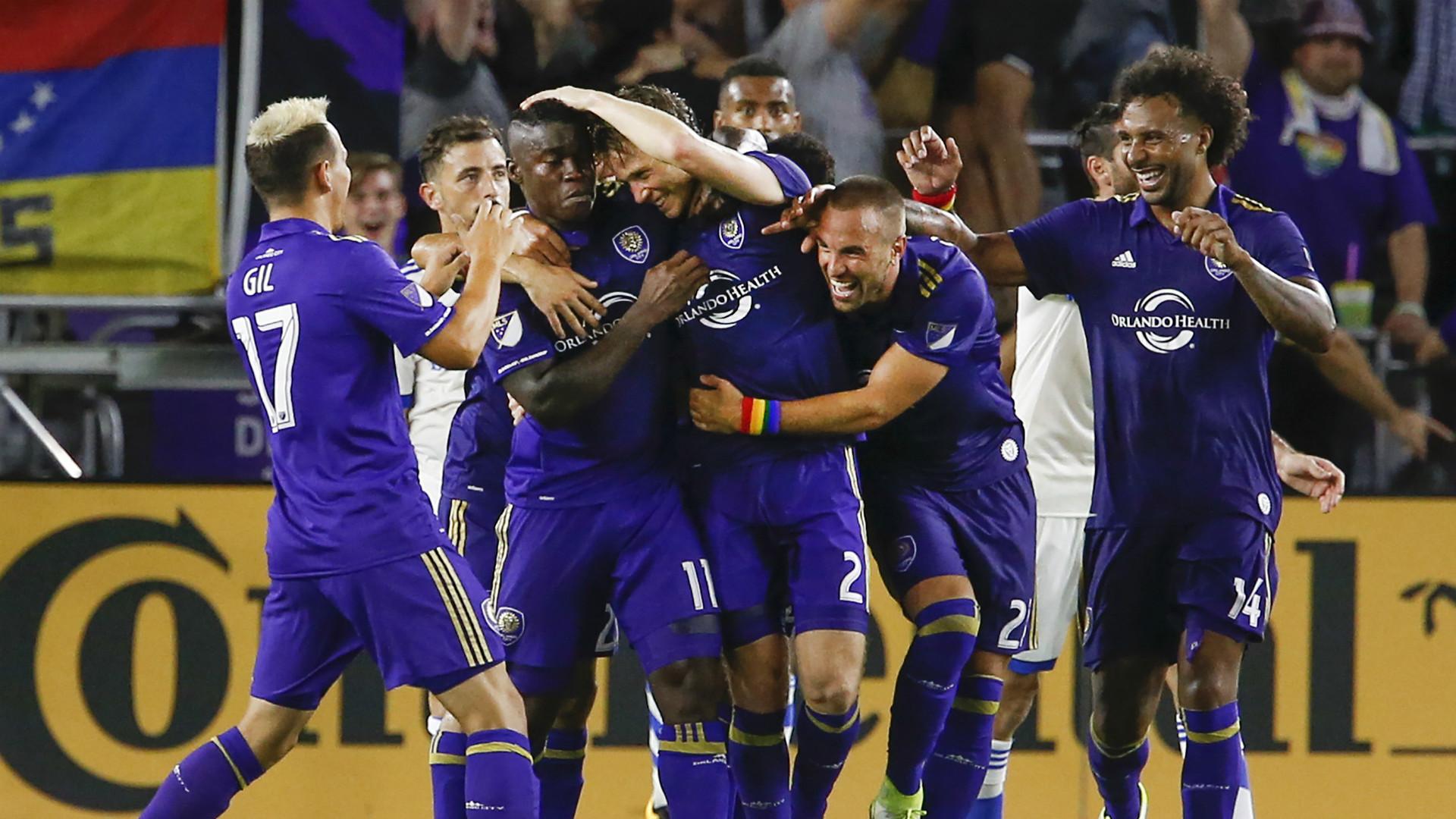 Orlando City Celebrates MLS 06172017