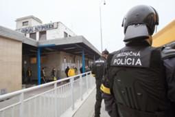 Dunaszerdahely DAC rendőrök
