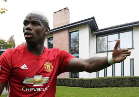 Take a look inside Pogba's £2.9m house