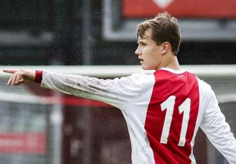 Ajax Onder-19 imponeert en bekert verder in Youth League