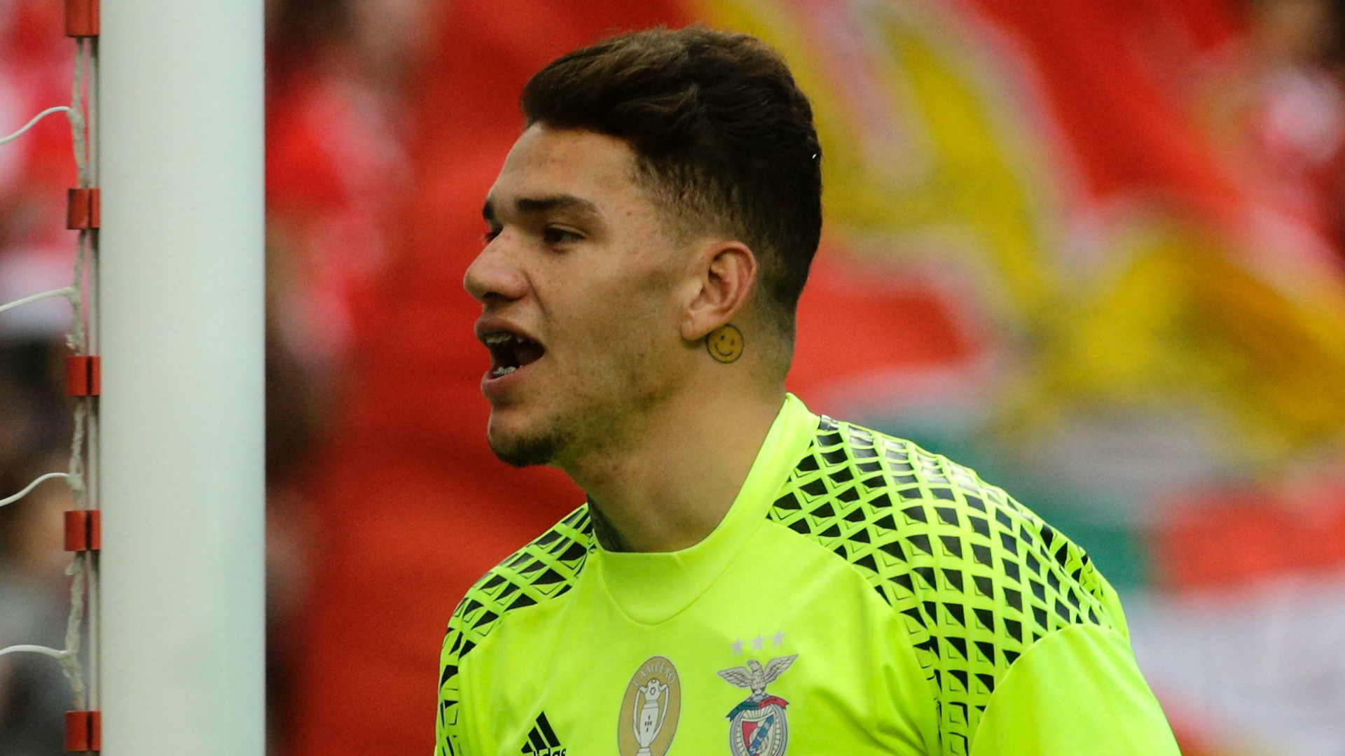 Ederson hints at City move