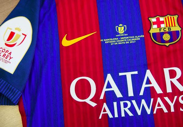 Así será la camiseta del Barcelona para la final de la Copa del Rey