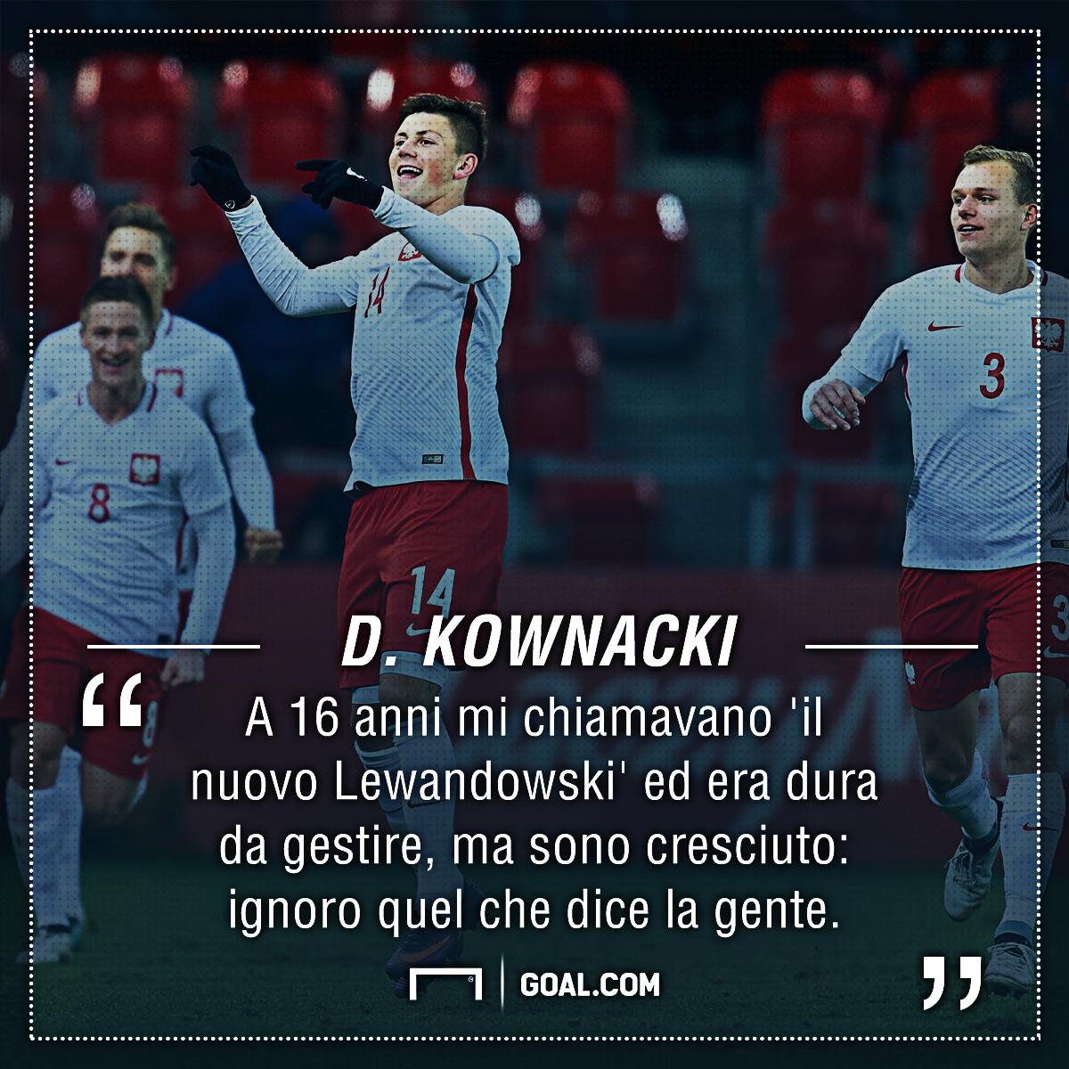 La Sampdoria scopre Kownacki: