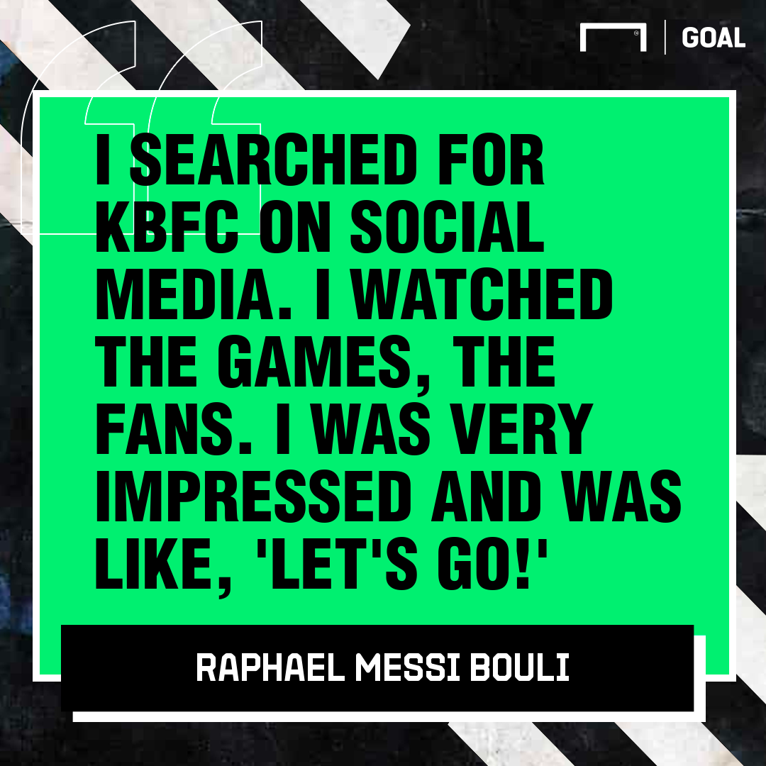 Kerala Blasters' Raphael Messi Bouli: There are a lot of Messis in Cameroon