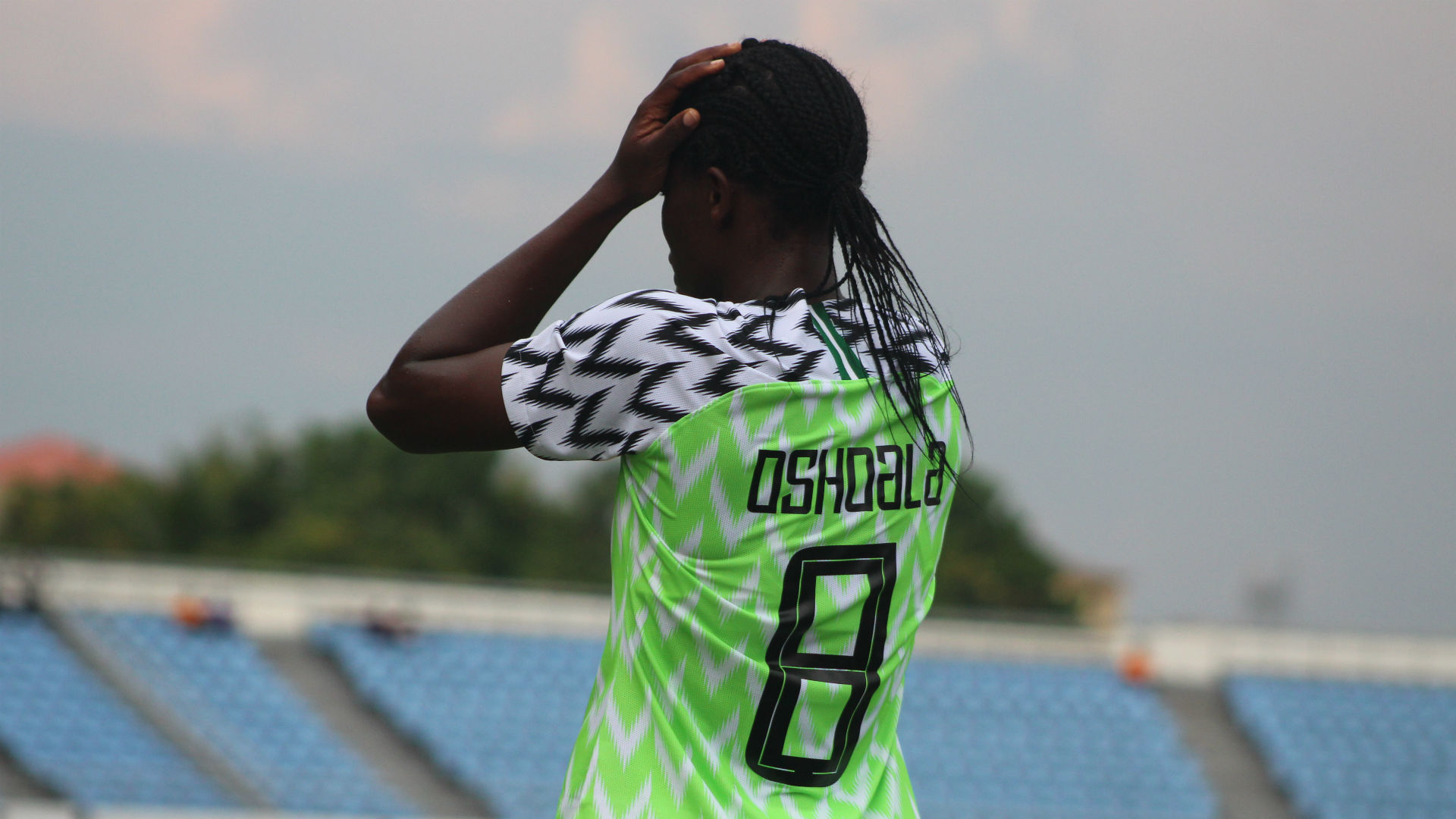 Oshoala injury scare for Nigeria as Dennerby prepares for Olympic qualifier in Algeria