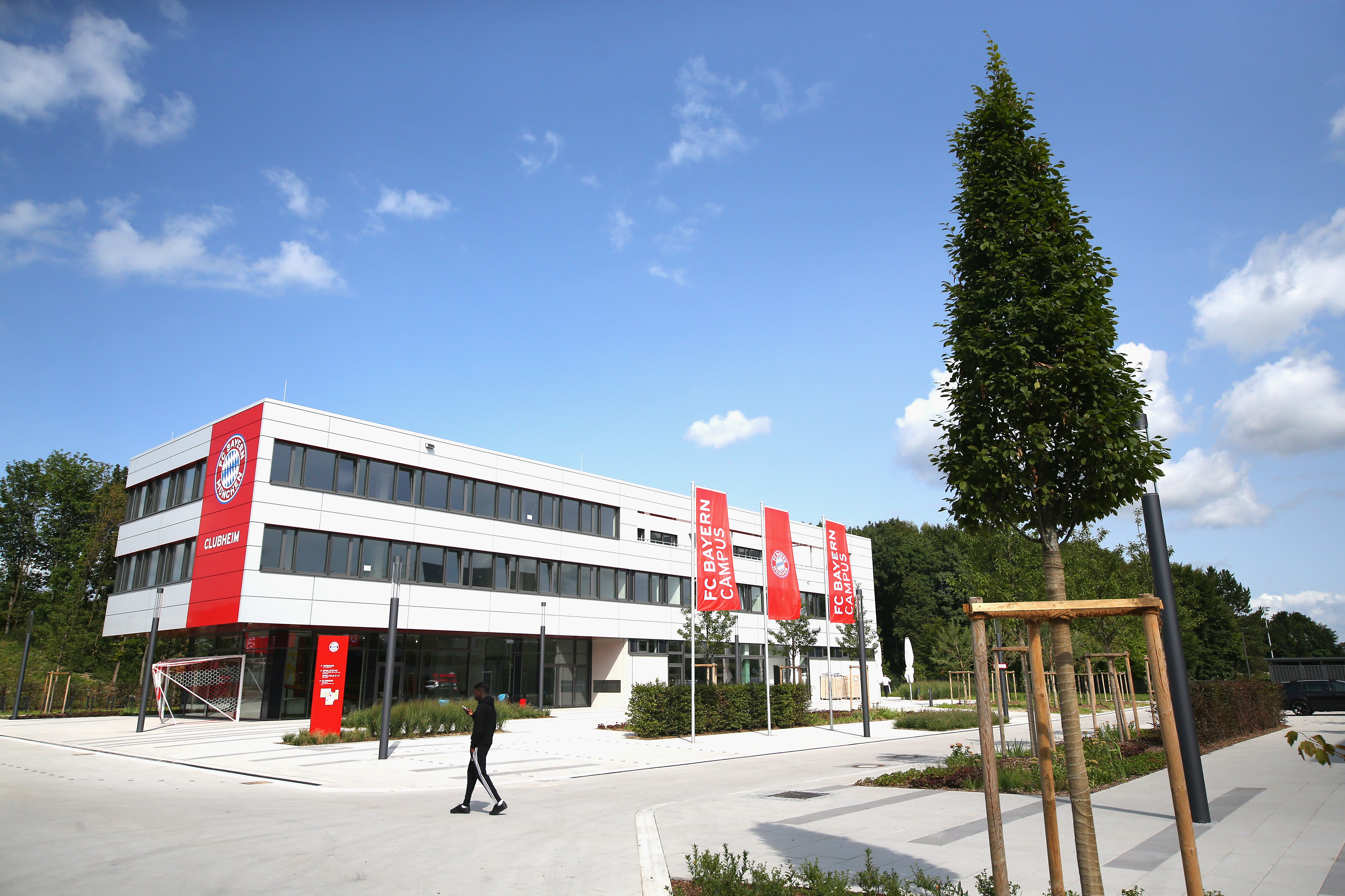 *NO GALLERY* FC Bayern Campus