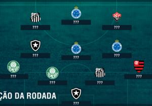 Cruzeiro emplaca trio em vitória sobre o lanterna, Santos, Palmeiras e Botafogo são representados por duplas. Vitória e Flamengo têm um cada