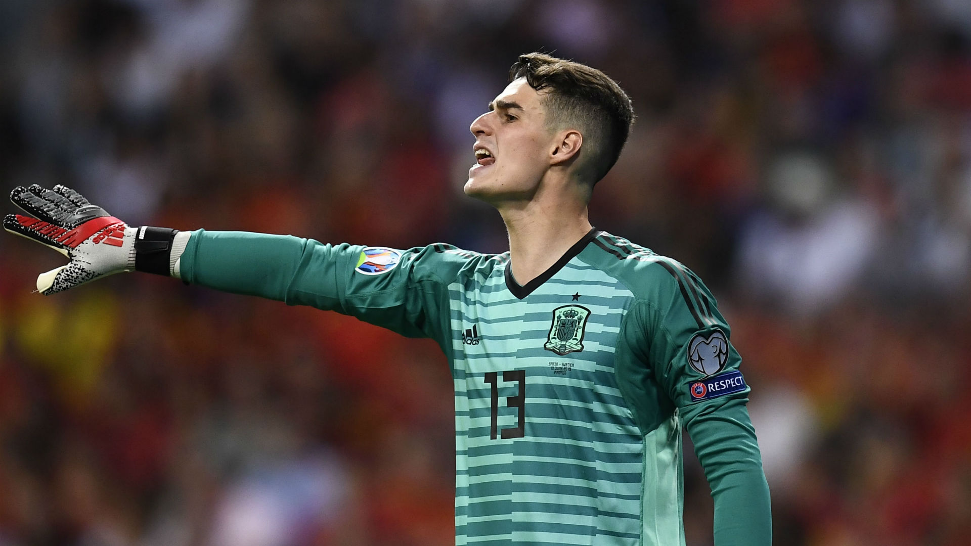 Kepa is not Spain's first-choice goalkeeper, says Moreno