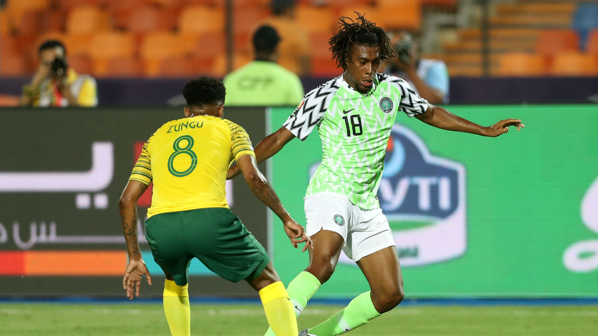 Afcon 2019: Nigeria need to repeat Cameroon and South Africa performances against Algeria - Iwobi