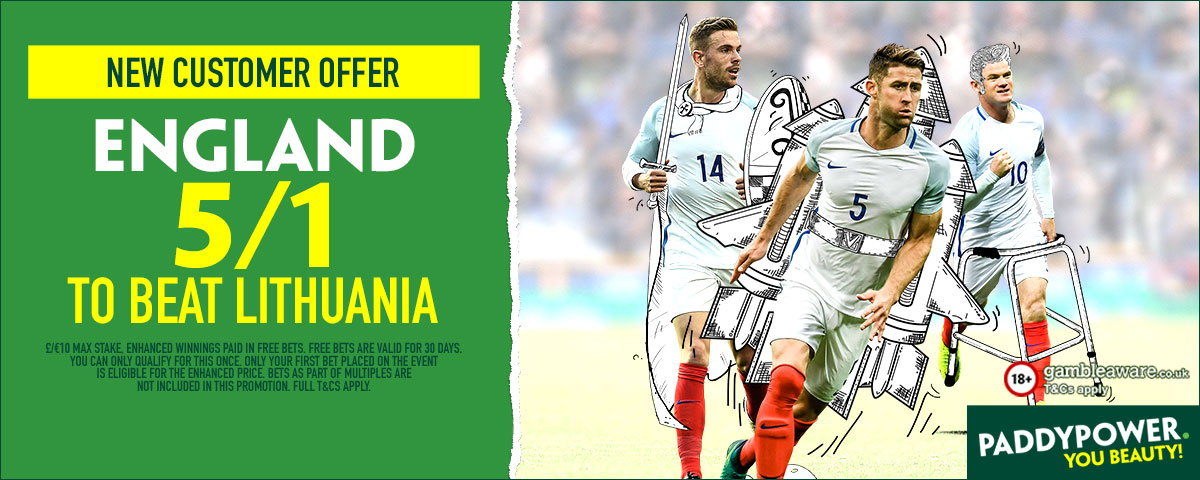 GFX England Lithuania enhanced betting