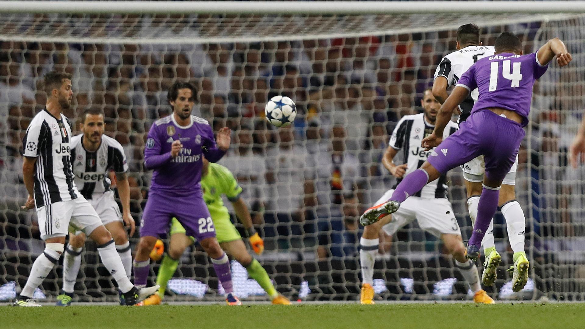 Casemiro Juventus Real Madrid UCL 03062017